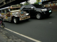 Jeepneys are a very unique Manila style of transportation